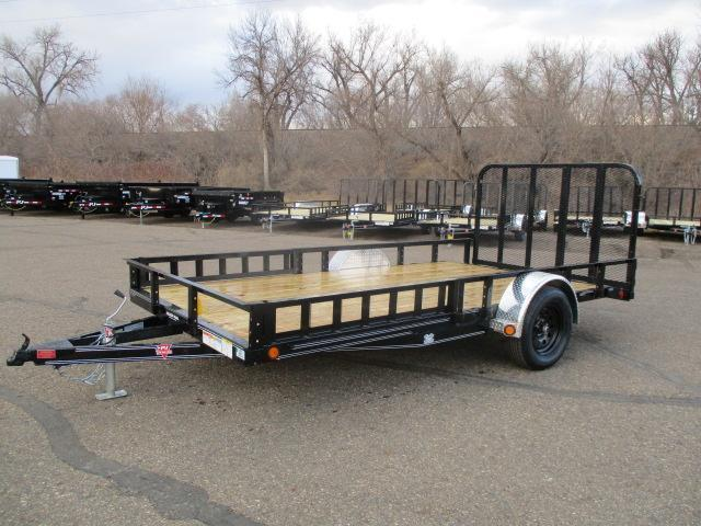 "2022 PJ Trailers 14'x83"" Sngl Axle Channel Utility Trailer"