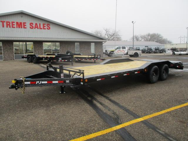 "2021 PJ Trailers 8"" Pro-Beam Super-Wide Equip (H6) Equipment Trailer"