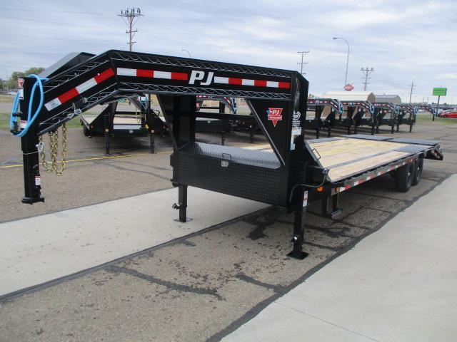 2021 PJ Trailers 26' Low-Pro Flatdeck with Singles Trailer