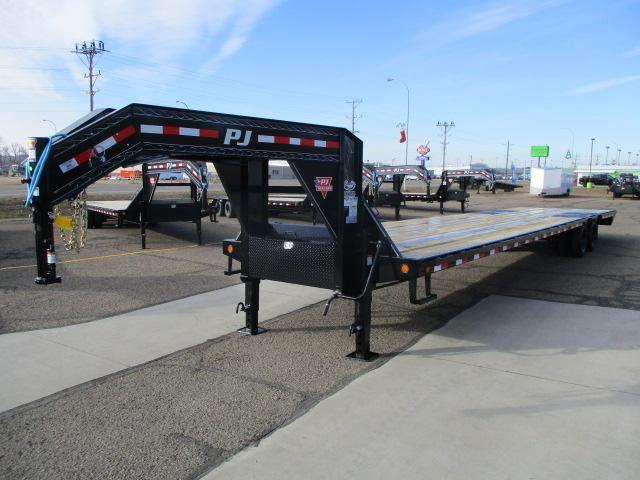 2021 PJ Trailers 40' Low-Pro Flatdeck with Duals Trailer