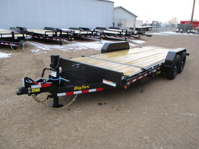 2021 Big Tex Trailers 14TL-20BK Equipment Trailer