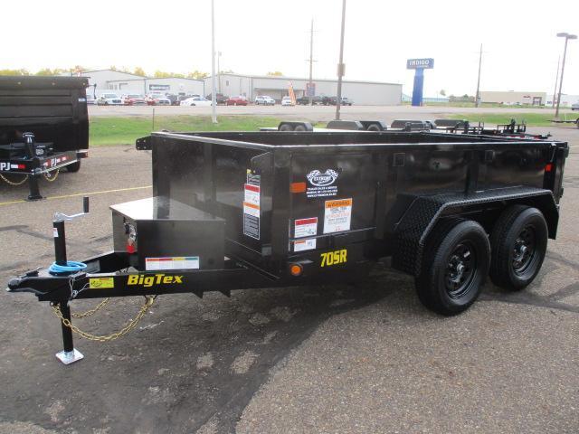 2022 Big Tex Trailers 70SR-10-5WDD Dump Trailer