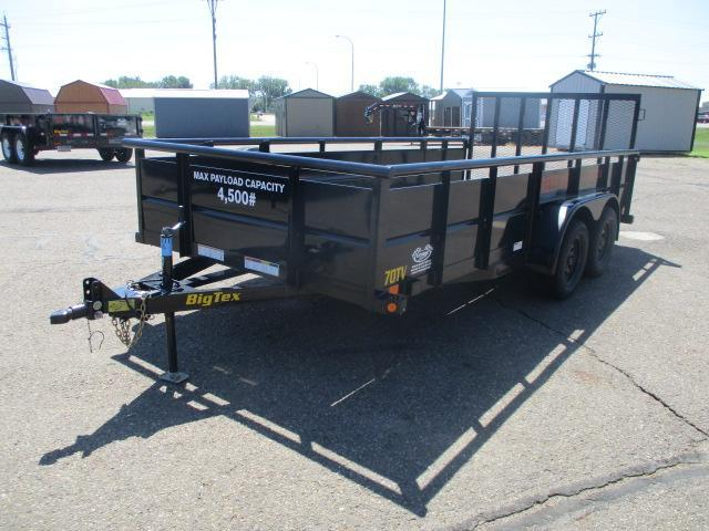 RENTAL 2020 Big Tex Trailers 70TV-16BK Utility Trailer