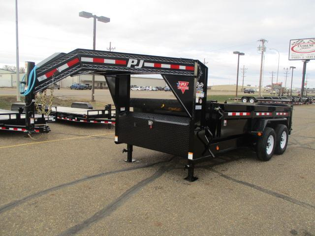 2020 PJ Trailers 14' Low Pro Dump Trailer