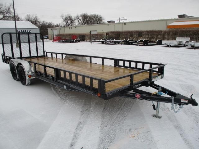 "2022 PJ Trailers 22'x83"" Tndm Axle Channel Utility Trailer"