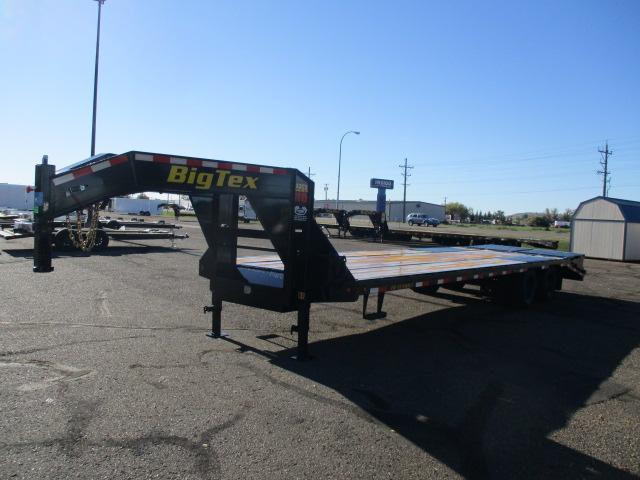 2022 Big Tex Trailers 22GN-25BK+5MR Equipment Trailer