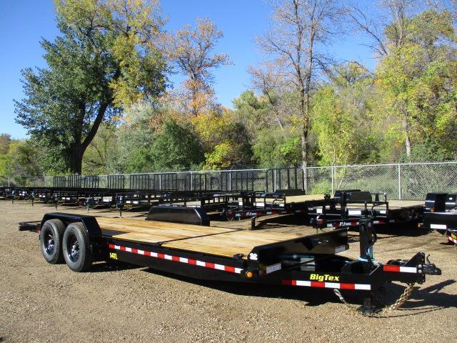 2022 Big Tex Trailers 14TL-22BK Equipment Trailer