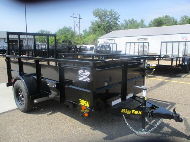 2021 Big Tex Trailers 30SV-10BK Utility Trailer