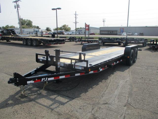 "2021 PJ Trailers 22' HD Equipment Tilt 6"" Channel"