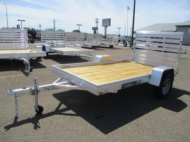 2021 Aluma 6810 Edge Series Wood Deck Utility Trailer