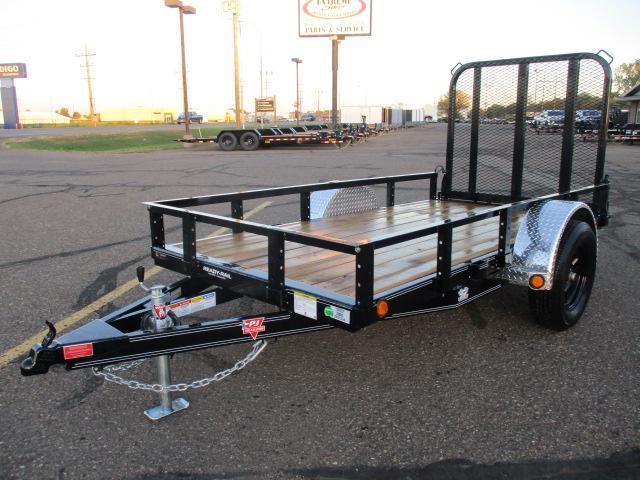 "2022 PJ Trailers 60"" x 10' Single Axle Channel Utility (U6) Utility Trailer"