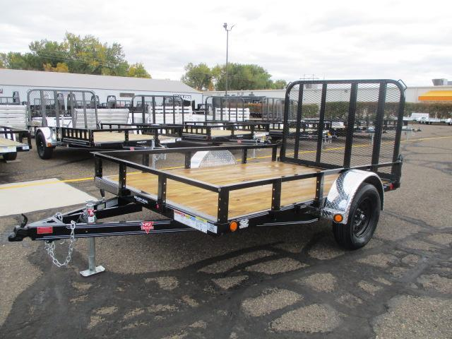 "2021 PJ Trailers 10'x77"" Sngl Axle Channel Utility Trailer"