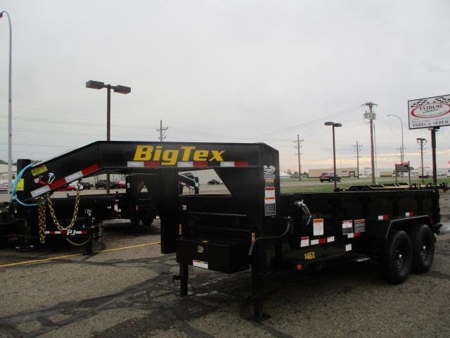 2022 Big Tex Trailers 14GX-14BK6SIRPD Dump Trailer