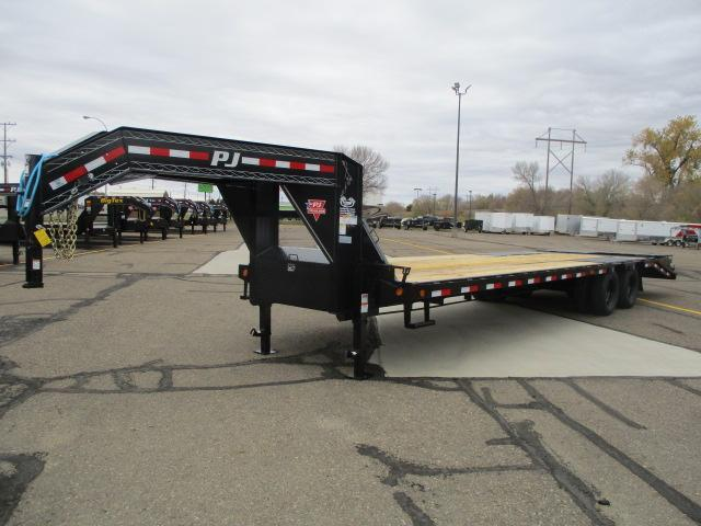 2021 PJ Trailers 30' Low-Pro Flatdeck with Duals Flatbed Trailer