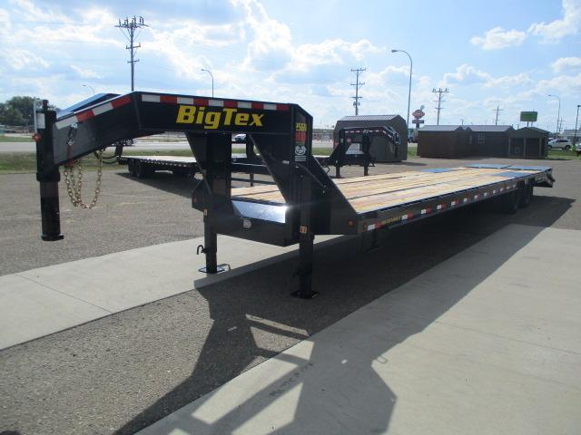 2021 Big Tex Trailers 25GN-35BK+5MR Flatbed Trailer