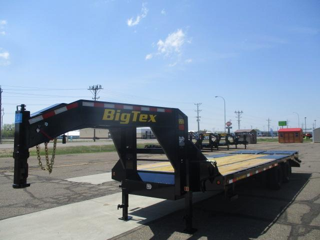 2022 Big Tex Trailers 22GN-20BK+5MR Flatbed Trailer