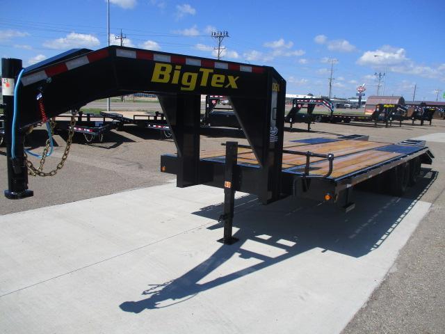2021 Big Tex Trailers 20GN-20BK+5 Flatbed Trailer
