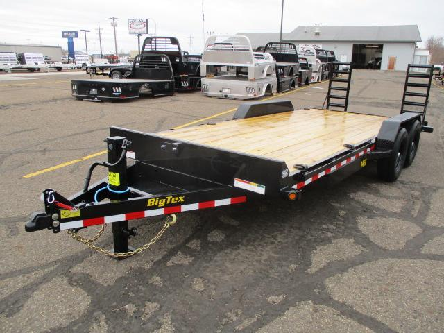 2021 Big Tex Trailers 14ET-20BK-KR Equipment Trailer