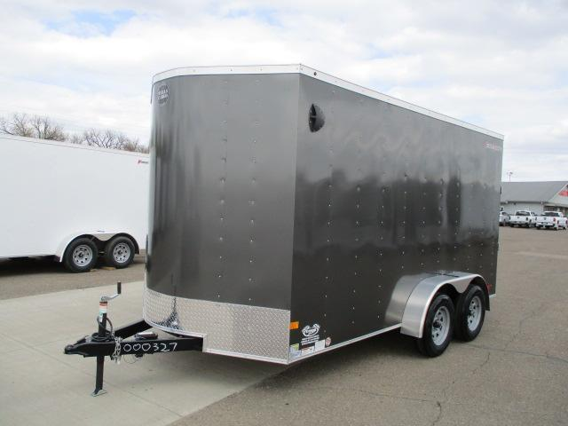 2020 Wells Cargo FT714T2-D Enclosed Cargo Trailer