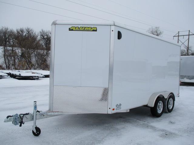 2021 Aluma AE714TAR Enclosed Cargo Trailer