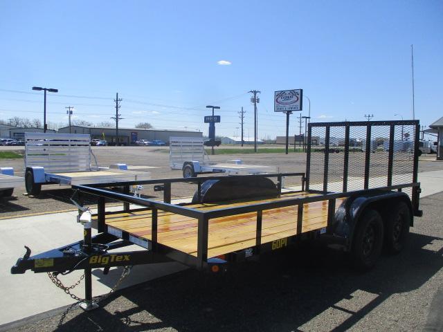 2022 Big Tex Trailers 60PI-14BK4RG Utility Trailer
