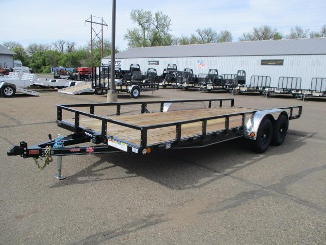 "2020 PJ Trailers 20'x83"" Tndm Axle Channel Utility Trailer"