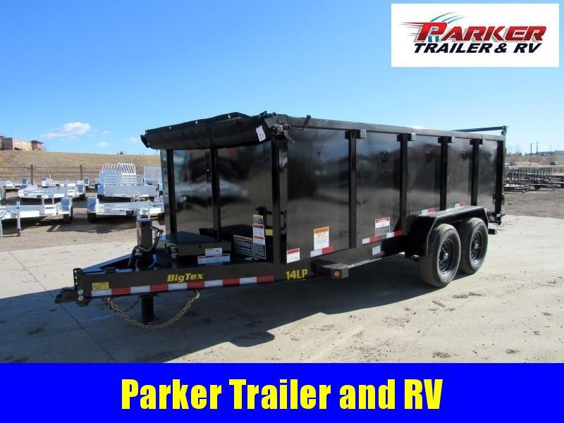 2021 Big Tex Trailers 14LP-16BK6-P4 Dump