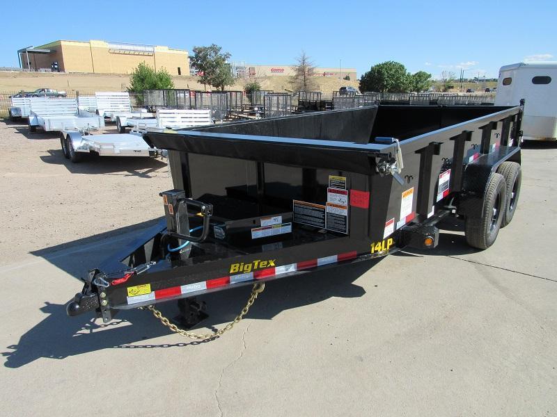 2022 Big Tex Trailers 14LP-14BK6SIRPD Dump