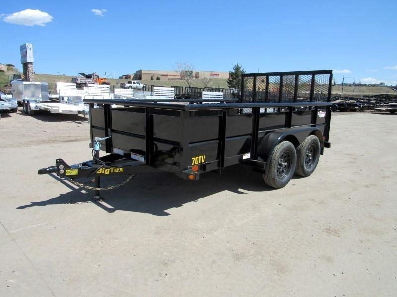 2020 Big Tex Trailers 70TV-12 Utility Trailer
