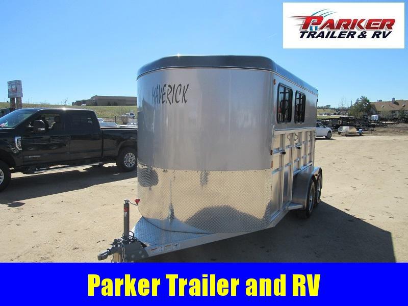 2021 Maverick MAVLITE2H-7K DX Horse Trailer