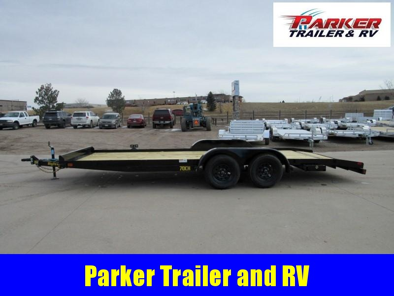 2021 Big Tex Trailers 70CH-20BKDT2B Flatbed Trailer