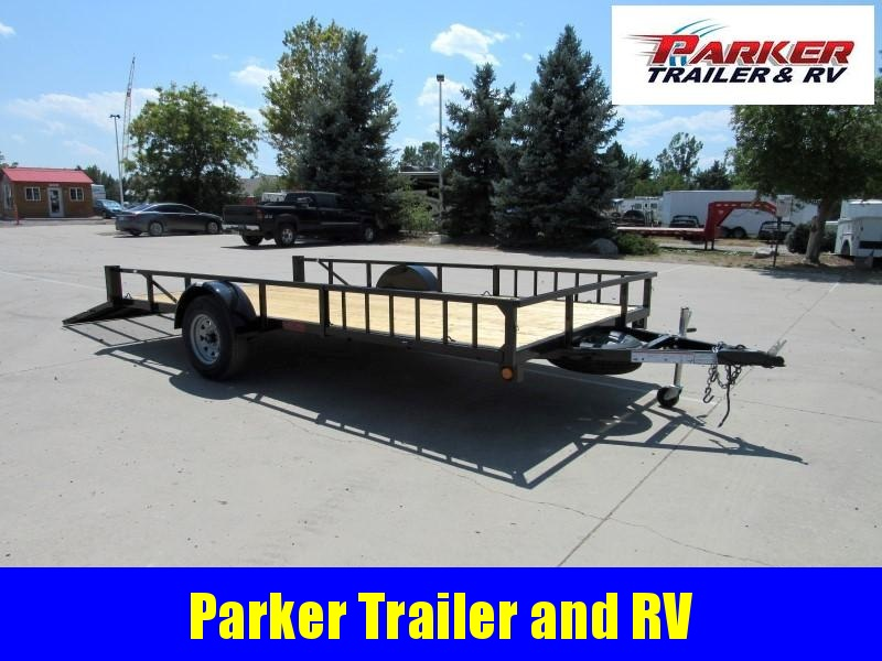 2021 Echo ERA-14-14WD Utility Trailer