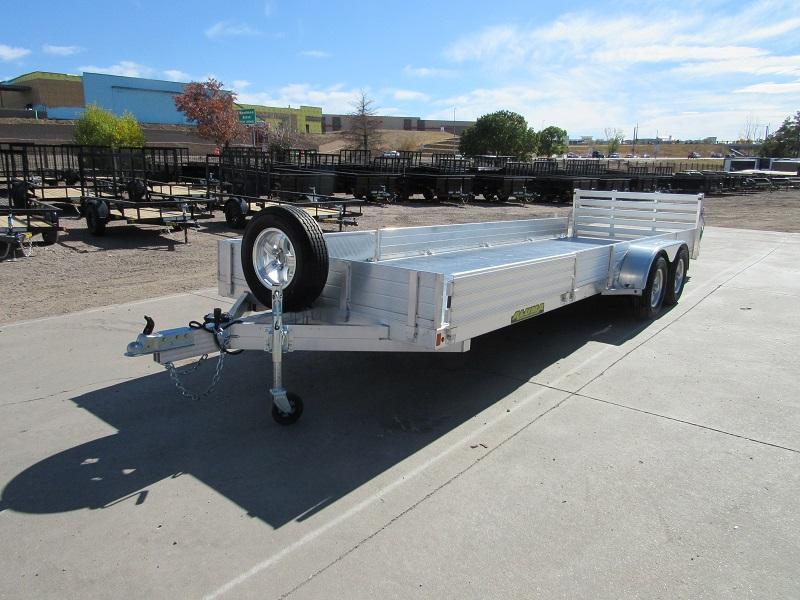 2021 Aluma 8122TA-SR Utility Trailer