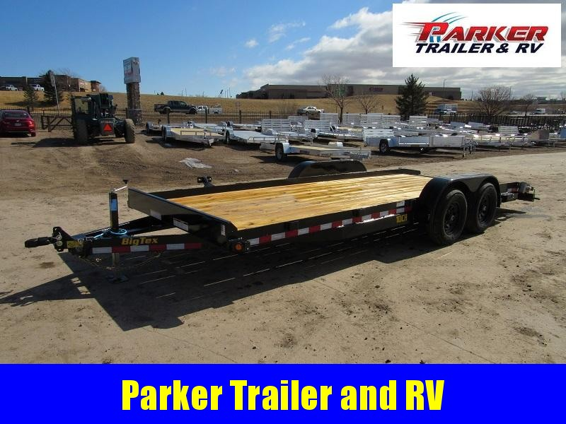 2021 Big Tex Trailers 16ET-17+3 Flatbed Trailer