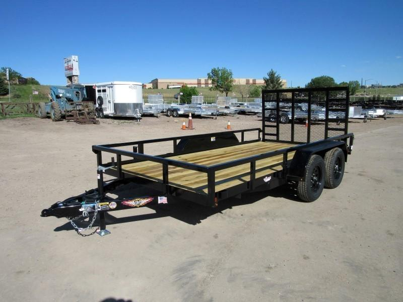 2020 H&H H8214TRS-070 Utility Trailer