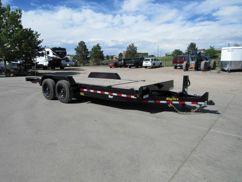 2020 Big Tex Trailers 16TL-20 Flatbed Trailer