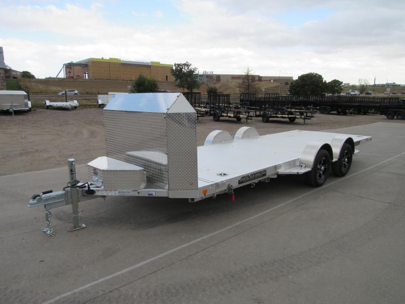 2022 Aluma 8218LP-TILT-TA-EL-R-RTD Utility Trailer