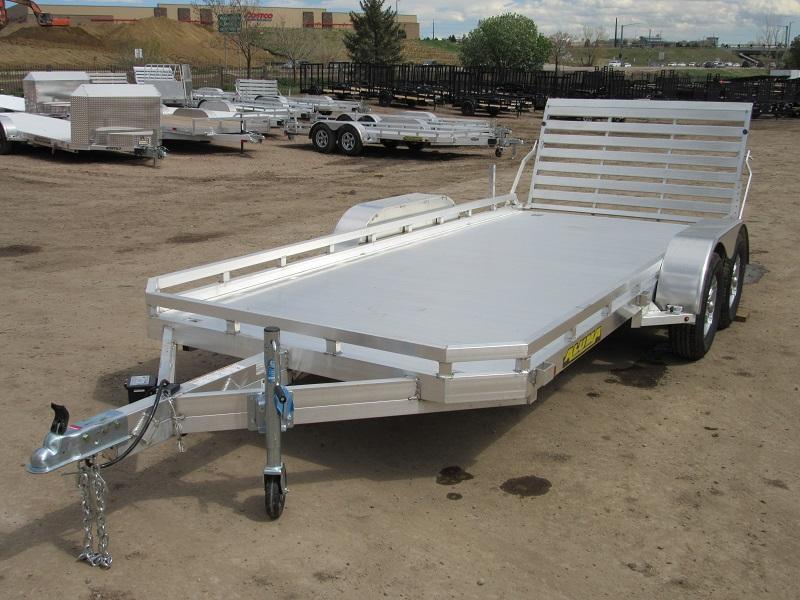 2022 Aluma 7816TA-EL-TG44-TR-RTD Utility Trailer