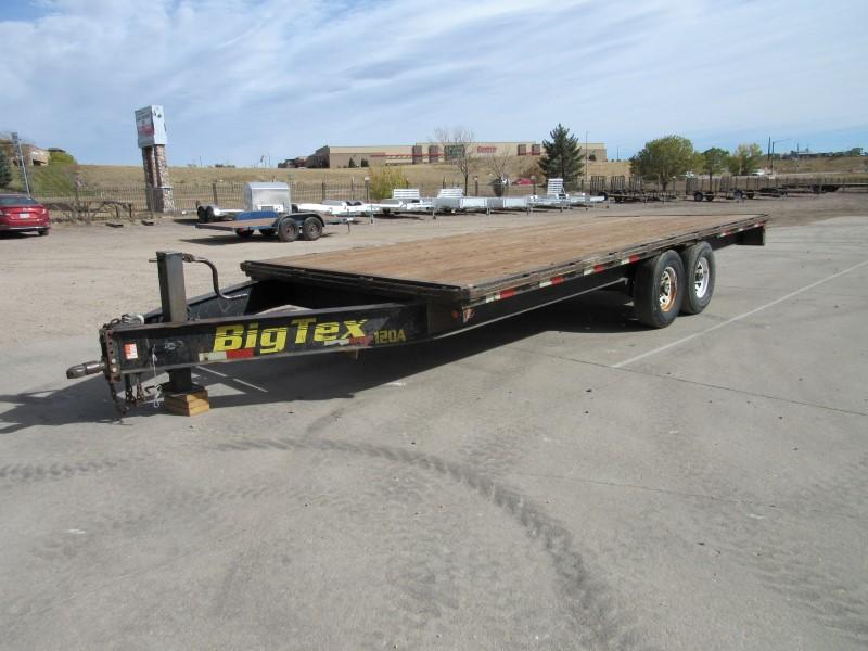 2004 Big Tex Trailers 12OA Flatbed Trailer