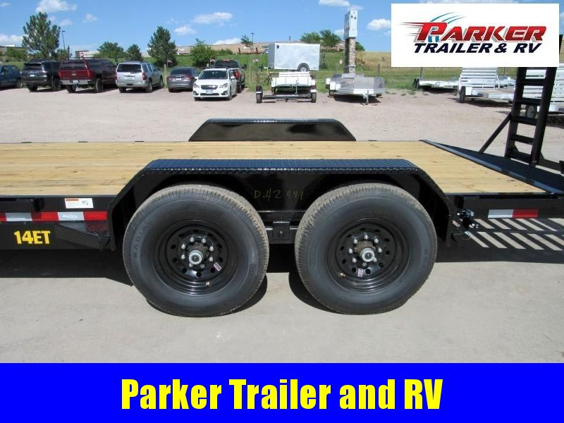 2021 Big Tex Trailers 14ET-20BK-KR Flatbed Trailer