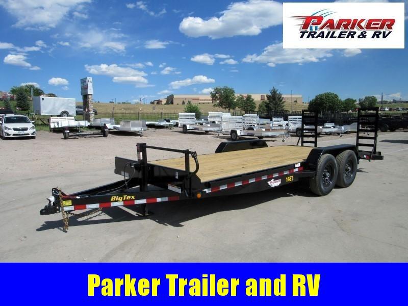 2021 Big Tex Trailers 14ET-20BK-KR Flatbed Trailer