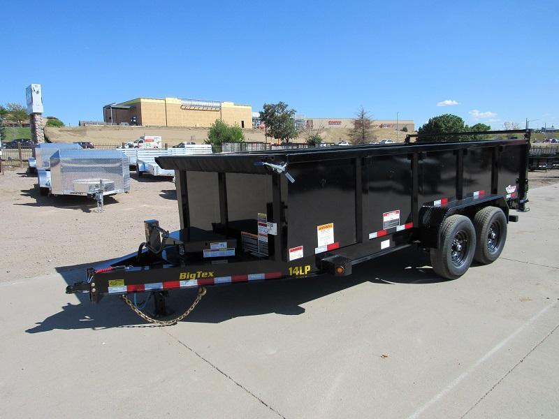 2022 Big Tex Trailers 14LP-16BK6-P3 Dump