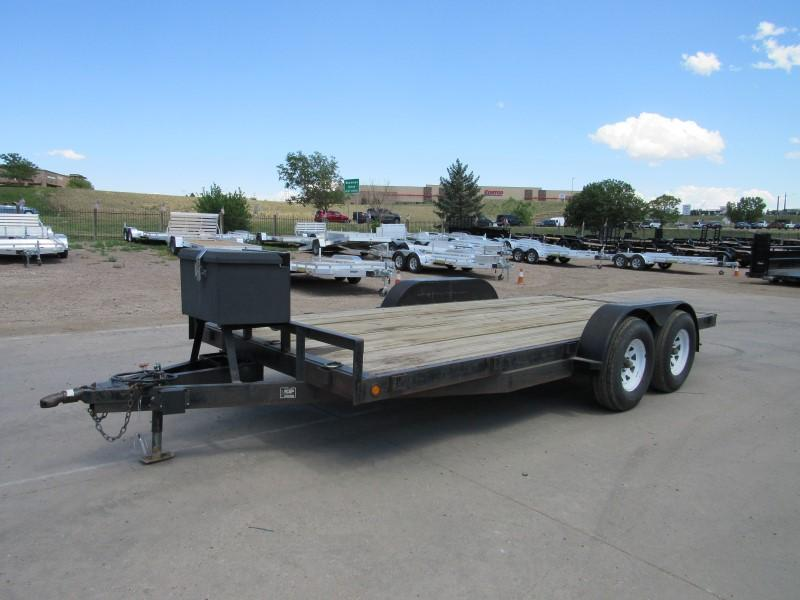2000 Other 8216TA Flatbed Trailer