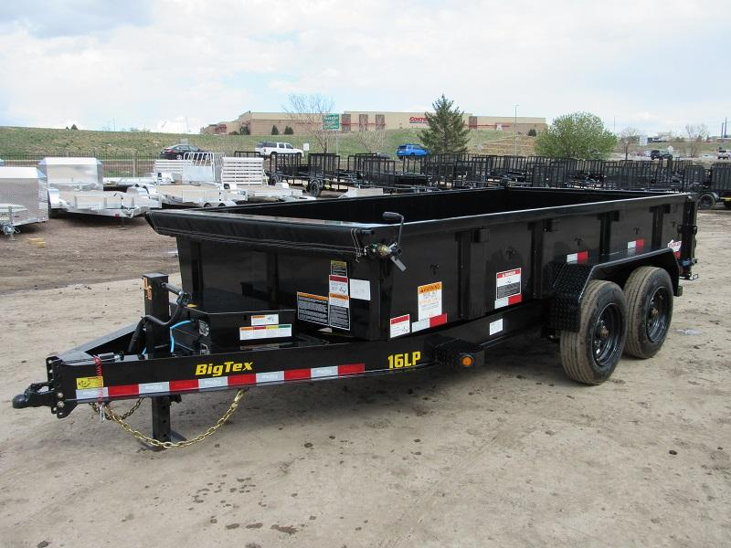 2021 Big Tex Trailers 16LP-14BK6SIRPD Dump