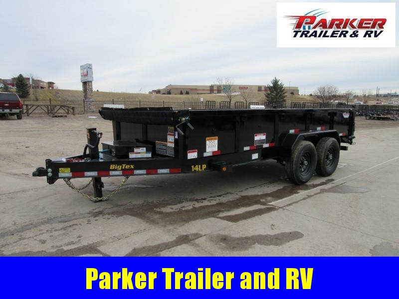 2022 Big Tex Trailers 14LP-16BK6SIRPD Dump