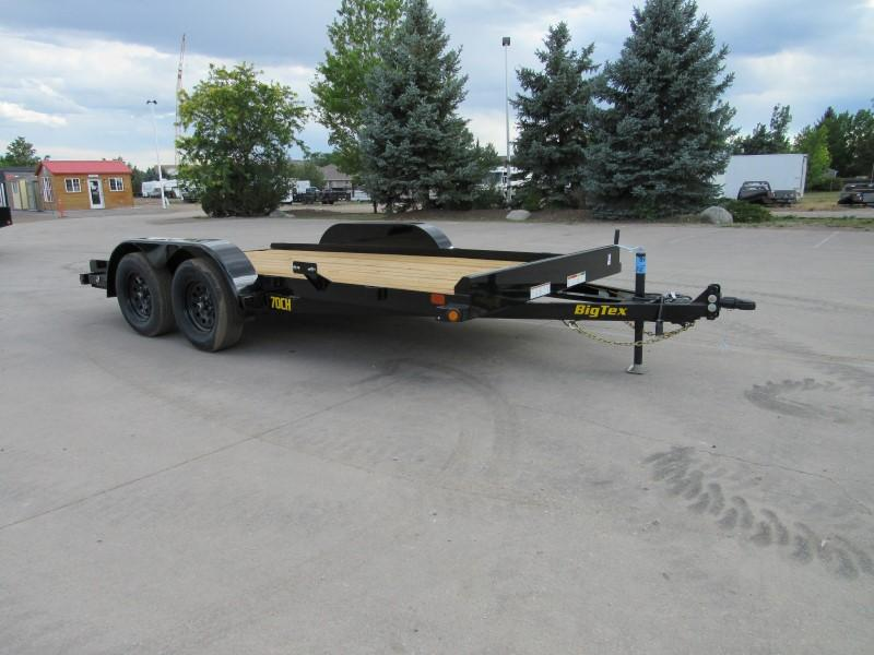 2020 Big Tex Trailers 70CH-14BK2B Flatbed Trailer