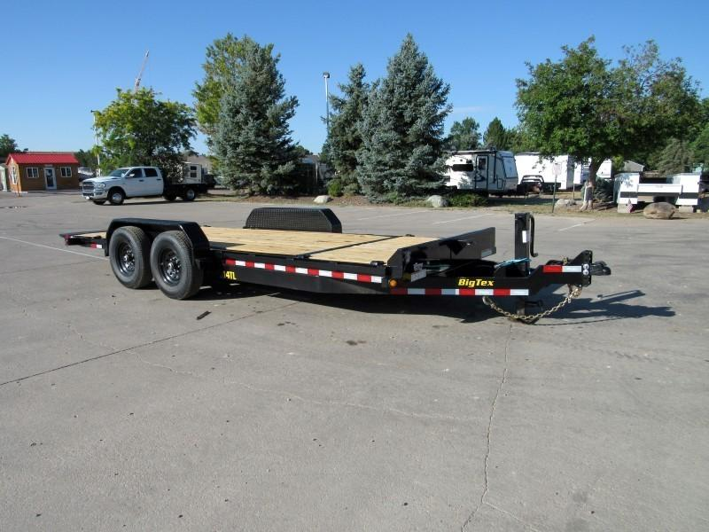 2021 Big Tex Trailers 14TL-20BK Flatbed Trailer