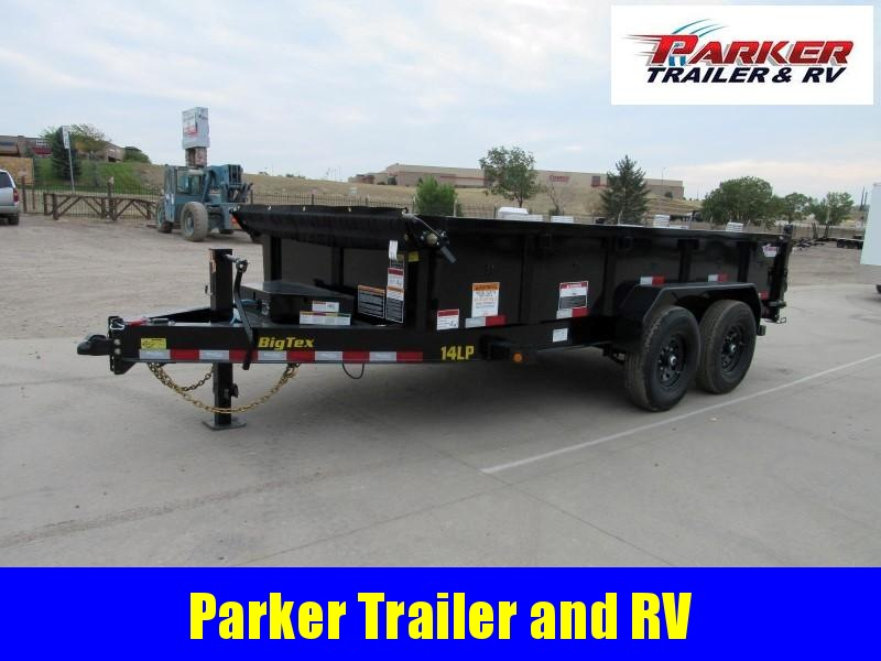 2022 Big Tex Trailers 14LP-14BK6SIRPD Dump
