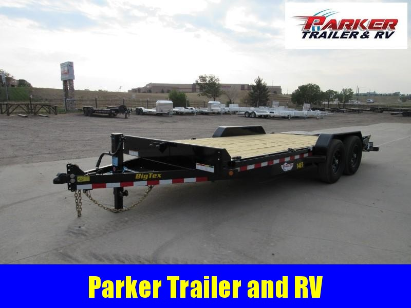 2021 Big Tex Trailers 14ET-18BK-MR Flatbed Trailer