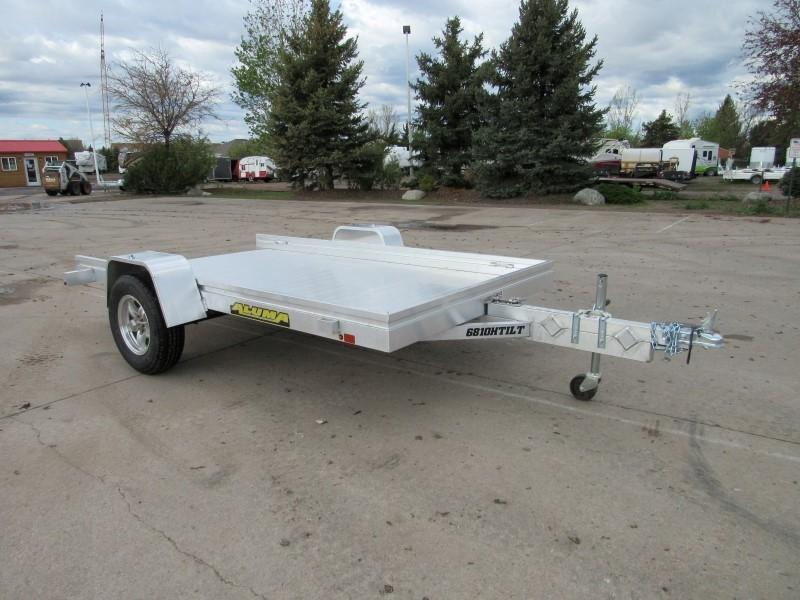 2021 Aluma 6810H-TILT-S Utility Trailer